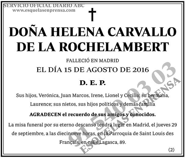 Helena Carvallo de la Rochelambert